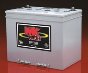 MK Gel Mobility Scooter Battery M24-SLDGFT 73Ah